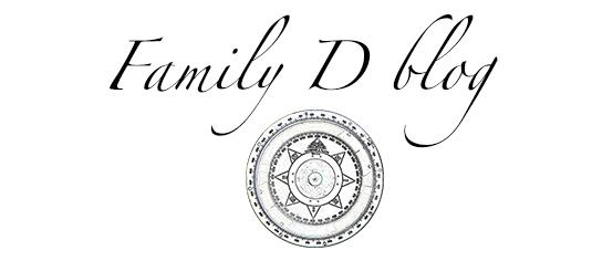 Family D blog